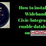 How To Install Aem Wideband On Honda Civic Eg/integra & Enable Data   Aem Wideband Wiring Diagram
