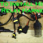 How To Install Hid Kit Light With Relay Harness   Youtube   Hid Wiring Diagram With Relay