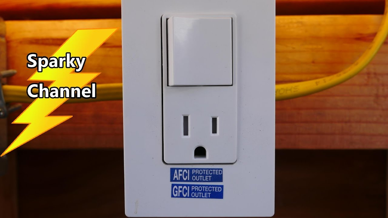 How To Install The Leviton Combination Switch And Tr Receptacle - Leviton Switch Outlet Combination Wiring Diagram