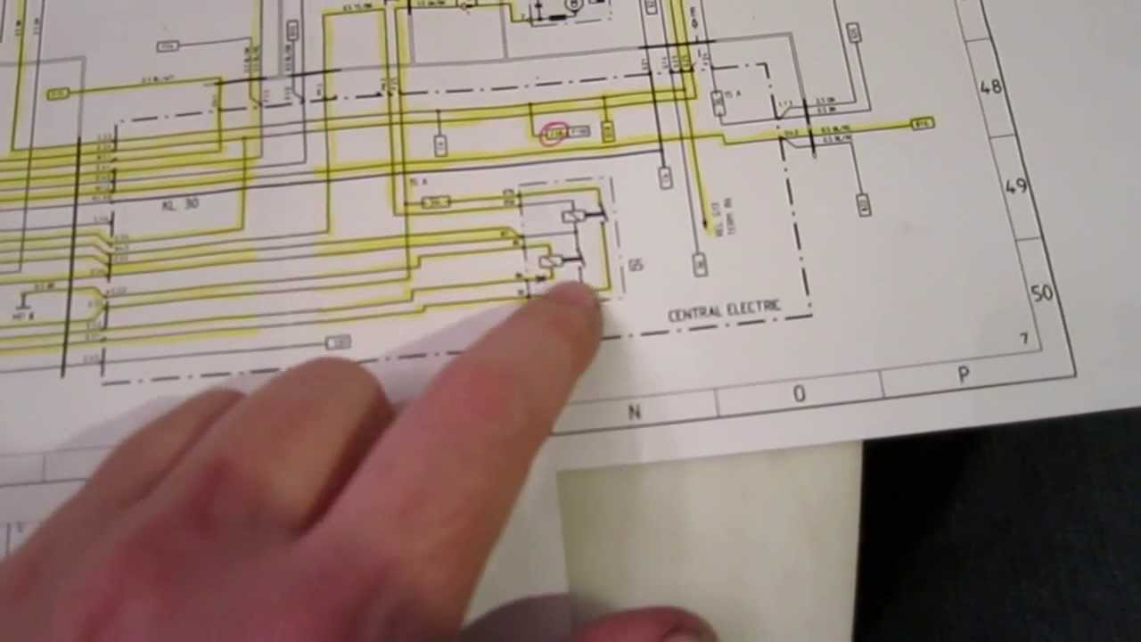 How To Read An Automotive Wiring Diagram (Porsche 944) - Youtube - Automotive Wiring Diagram Symbols