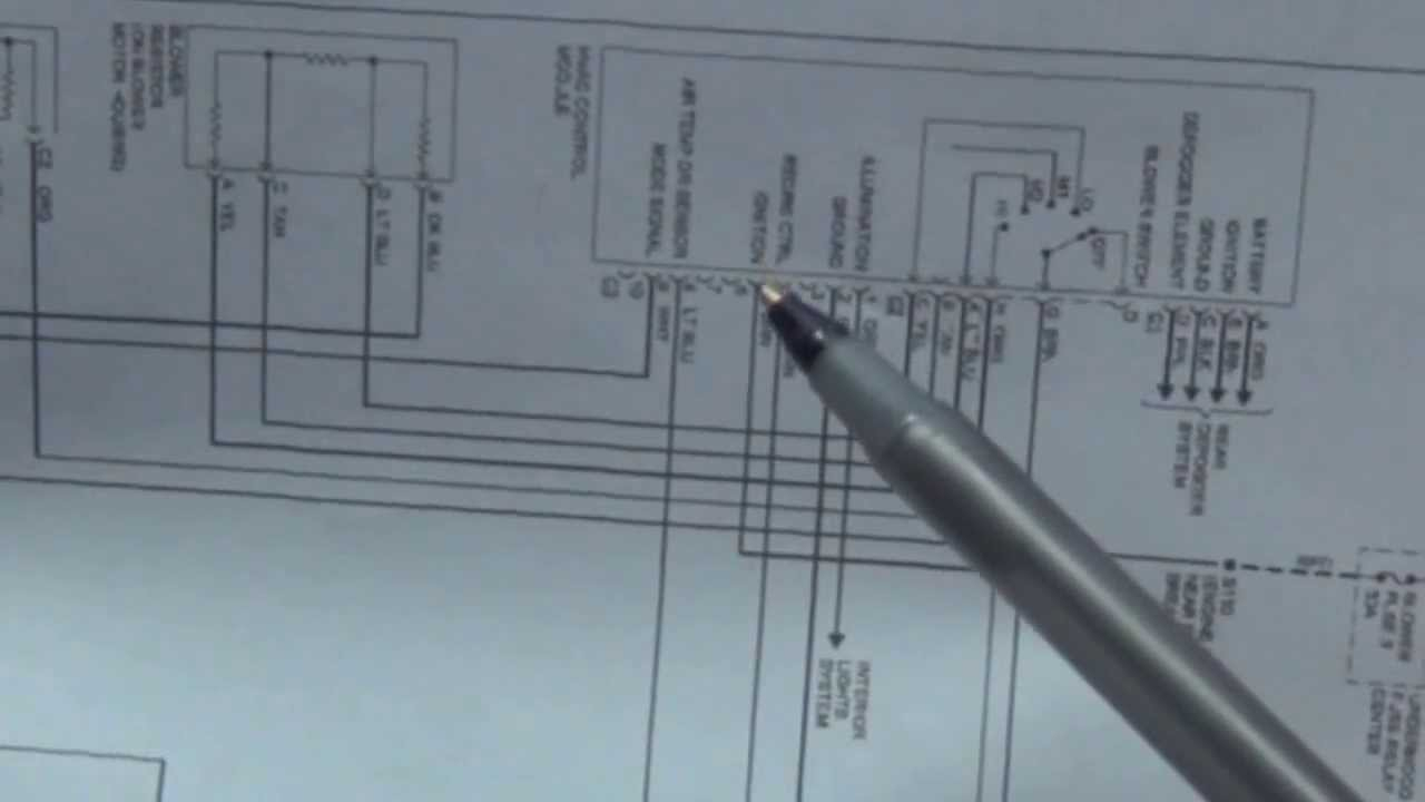 How To Read Wiring Diagrams (Schematics) Automotive - Youtube - Bbbind Wiring Diagram