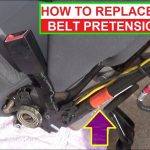 How To Remove And Replace Seat Belt Pretensioner. Demonstrated On Ford  Escape / Mercury Mariner   Mercury 8 Pin Wiring Harness Diagram