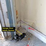 How To Repair Garage Door Safety Sensor Wires   Chamberlain Garage Door Sensor Wiring Diagram