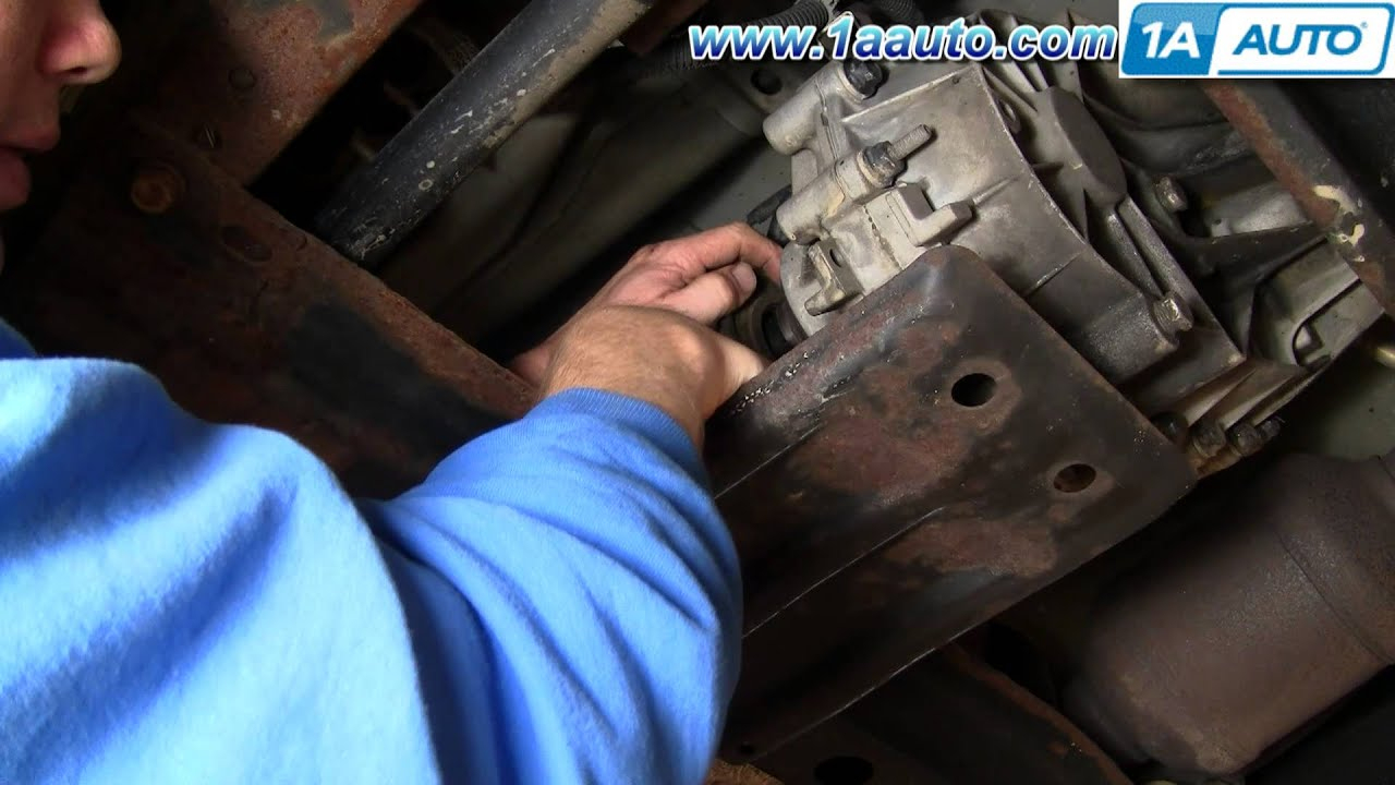 How To Replace Transfer Case Shift Motor 01-02 Gmc Sierra 2500 Hd - Chevy Silverado Wiring Diagram