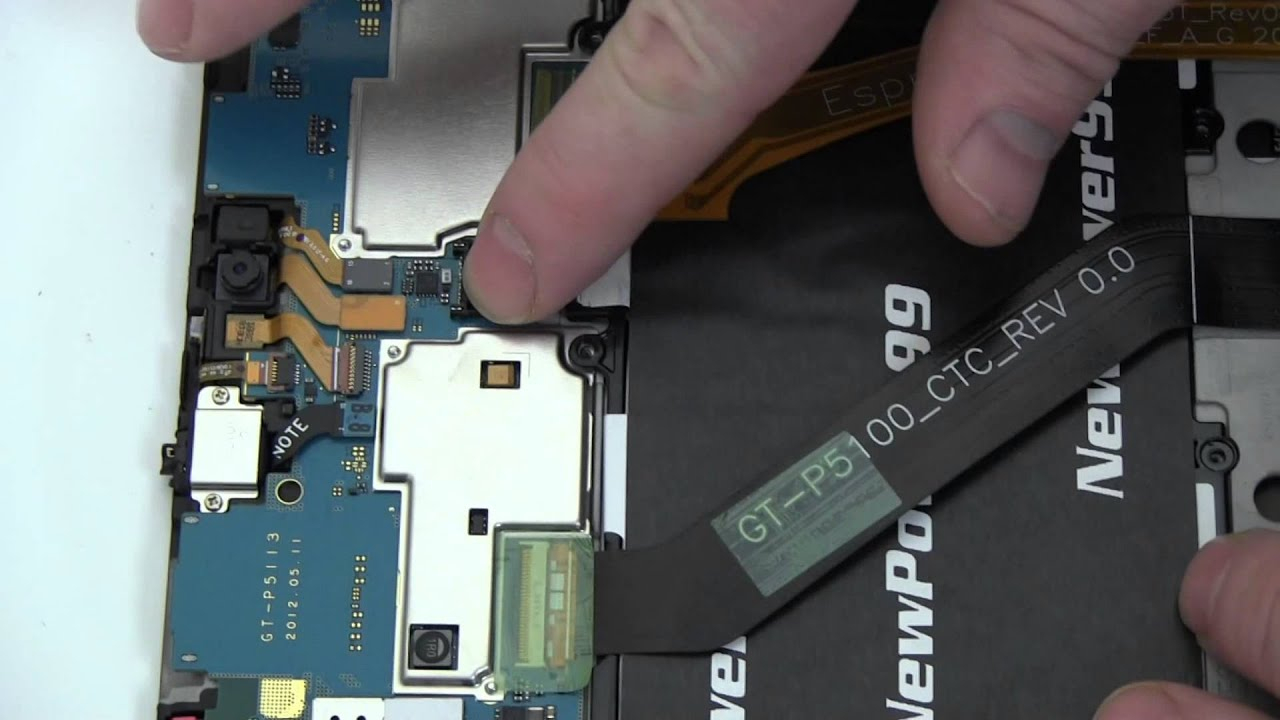 How To Replace Your Samsung Galaxy Tab 2 10.1 Battery - Youtube - Samsung Galaxy Tab 2 Charger Wiring Diagram