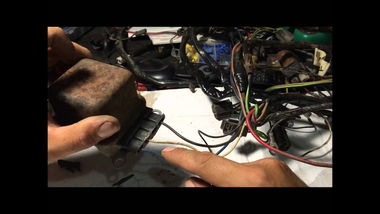 How To Rewire Alternator Wiring Harness For Internally Regulated Gm - 4 Wire Alternator Wiring Diagram