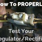 How To Test A Regulator/rectifier   Youtube   Rectifier Regulator Wiring Diagram