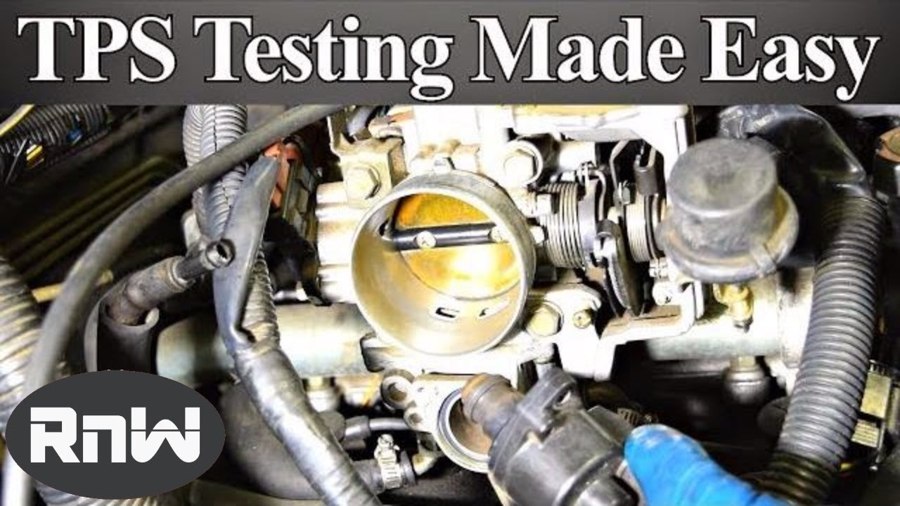 How To Test A Throttle Position Sensor (Tps) - With Or Without A - Accelerator Pedal Position Sensor Wiring Diagram
