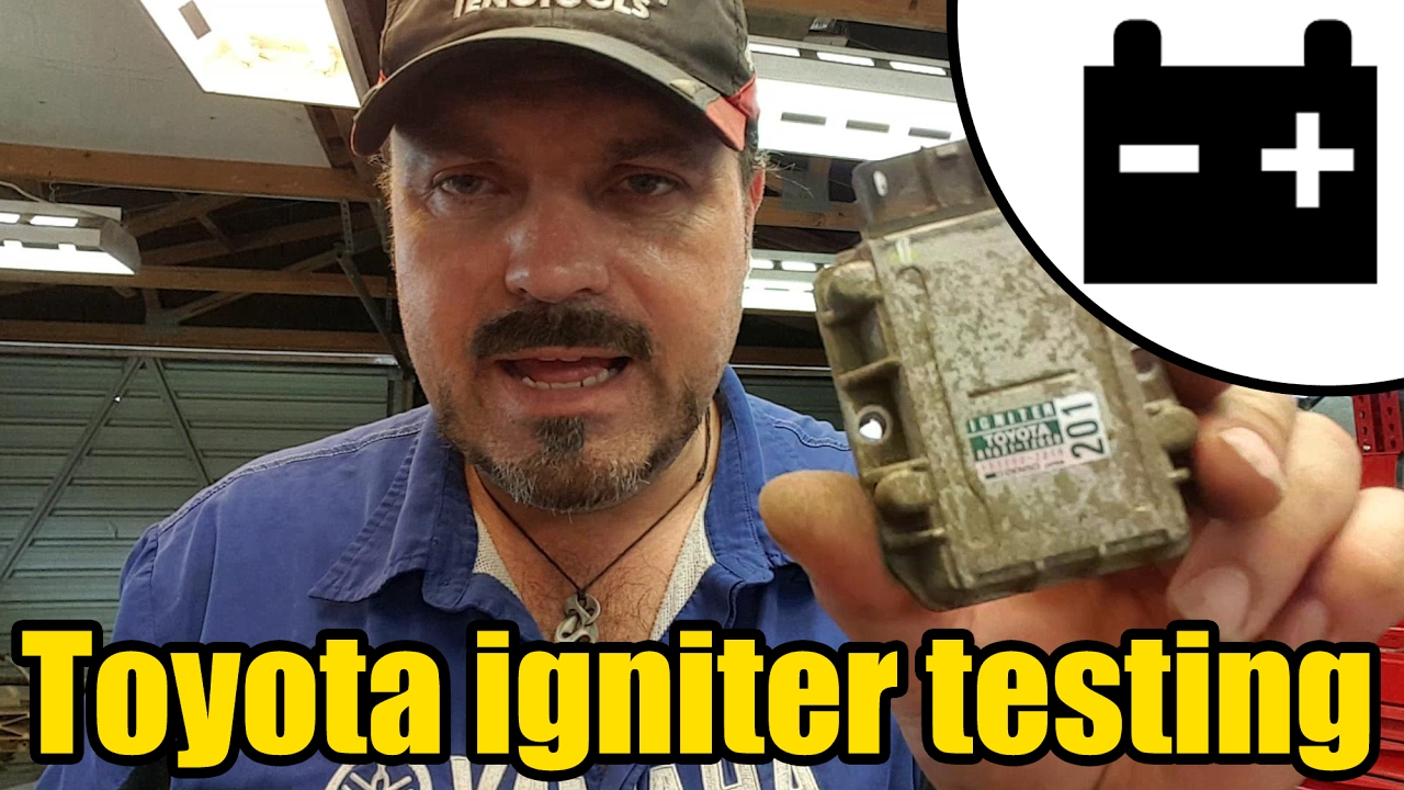 How To Test A Toyota Ignition Igniter #1421 - Youtube - Toyota Igniter Wiring Diagram