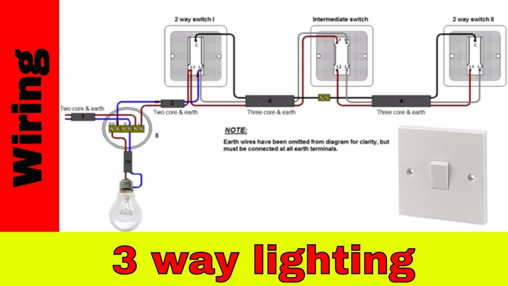 How To Wire 3-way Lighting Circuit - Youtube