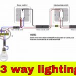 How To Wire 3 Way Lighting Circuit   Youtube   Three Way Light Switch Wiring Diagram