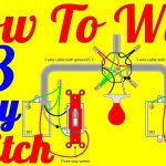 How To Wire 3 Way Switch Wiring Diagrams   Youtube   3Way Switch Wiring Diagram