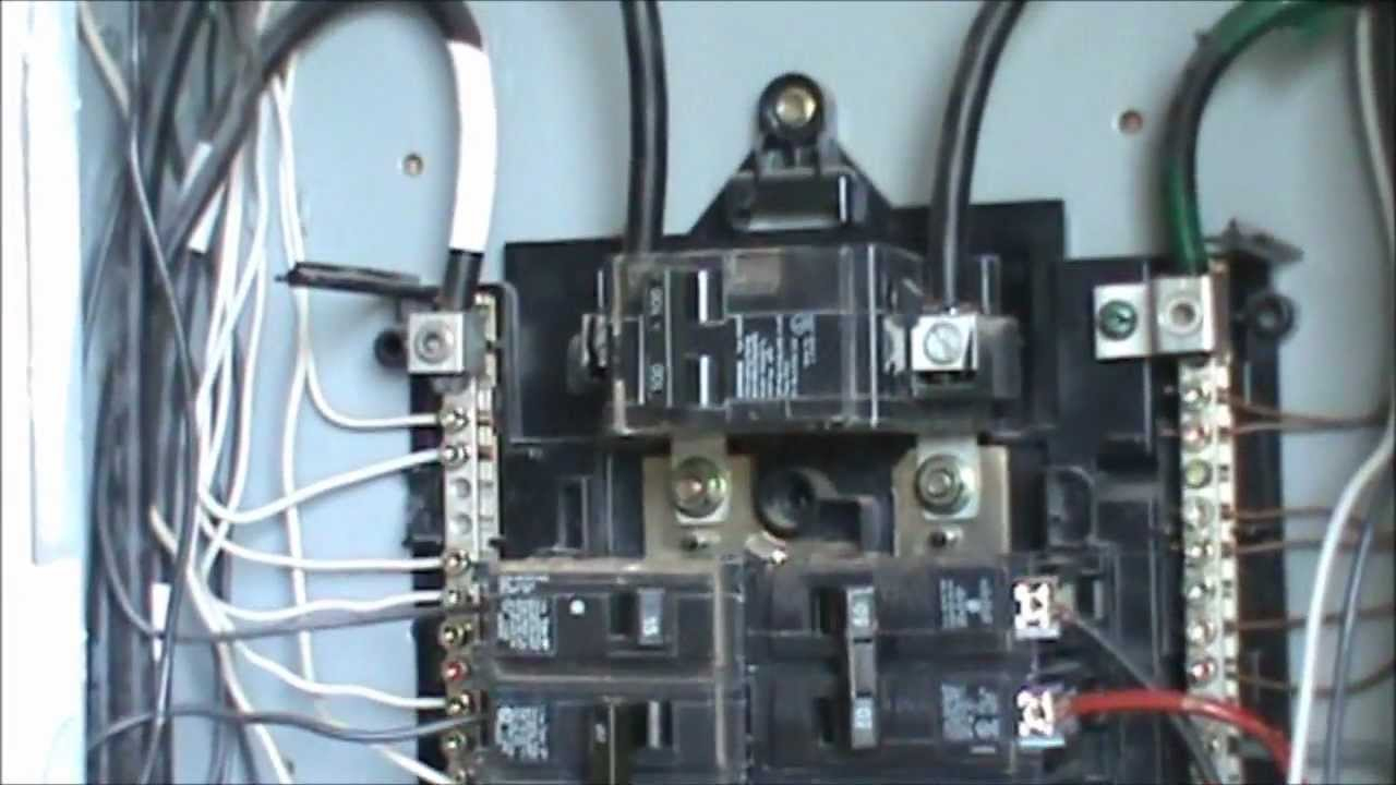 How To Wire A 240 Volt Circuit See Description - Youtube - 240 Volt Wiring Diagram