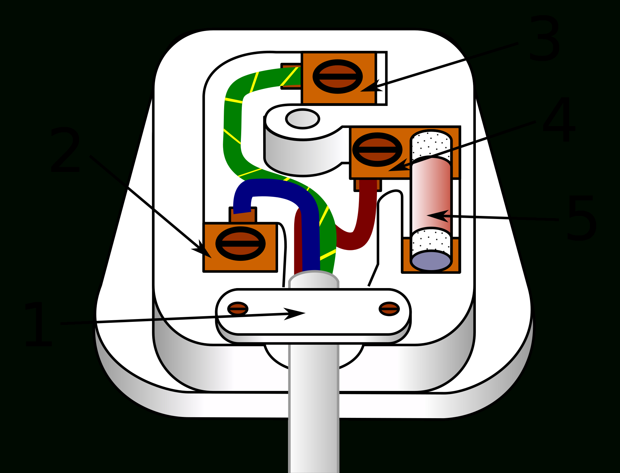 How To Wire A 3 Pin Plug - Mmk Electricians Dublin - Wiring A Plug Diagram