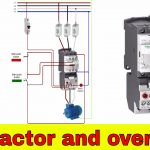 How To Wire A Contactor And Overload   Direct Online Starter.   Youtube   3 Phase Contactor Wiring Diagram Start Stop