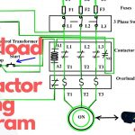 How To Wire A Contactor And Overload. Start Stop 3 Phase Motor   3 Phase Contactor Wiring Diagram Start Stop