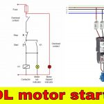 How To Wire A Contactor   Direct On Line Motor Starter Diagram   Starter Motor Wiring Diagram