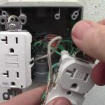 How To Wire A Double Receptacle With 20 Amp Gfci Weather Resistant   Gfci Outlet Wiring Diagram