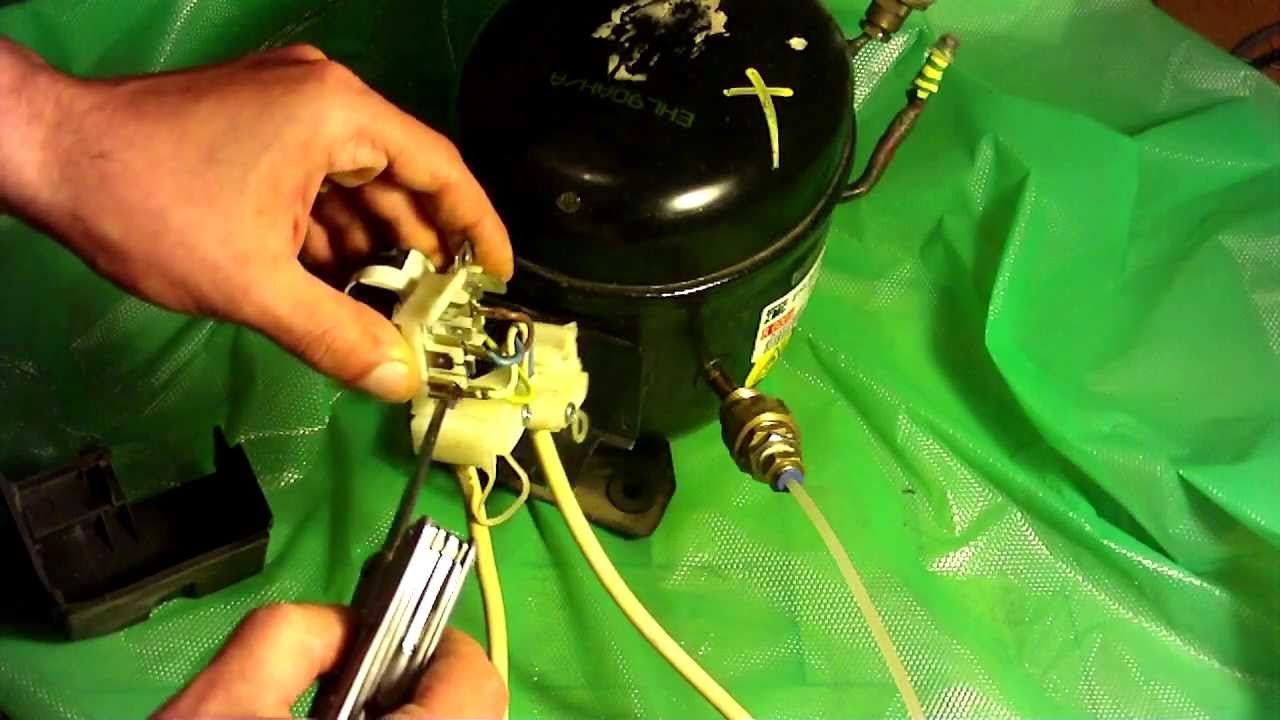 How To Wire A Fridge Compressor - Youtube - Refrigerator Compressor Wiring Diagram