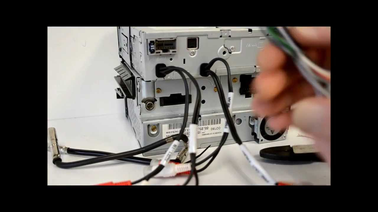 How To Wire An Aftermarket Radio / I Demo Install With Metra Harness - Jvc Radio Wiring Diagram