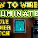 How To Wire An Illuminated 4 Pole Rocker Switch Kcd4  Vegoilguy   4 Pin Rocker Switch Wiring Diagram