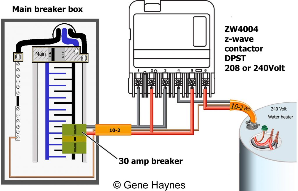 How To Wire Ca3750 Z-wave Contactor   Zwave Basics