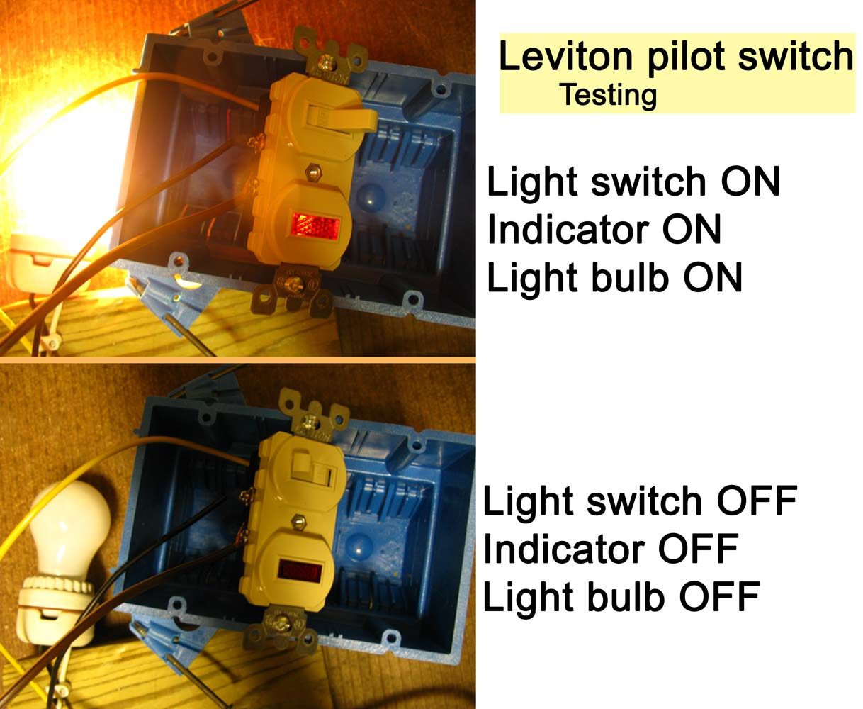 How To Wire Cooper 277 Pilot Light Switch - Leviton 3 Way Dimmer Switch Wiring Diagram