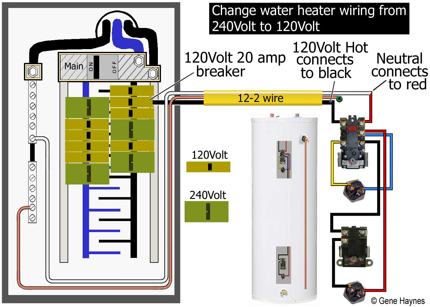 120v Electric Baseboard Thermostat Wiring Diagram