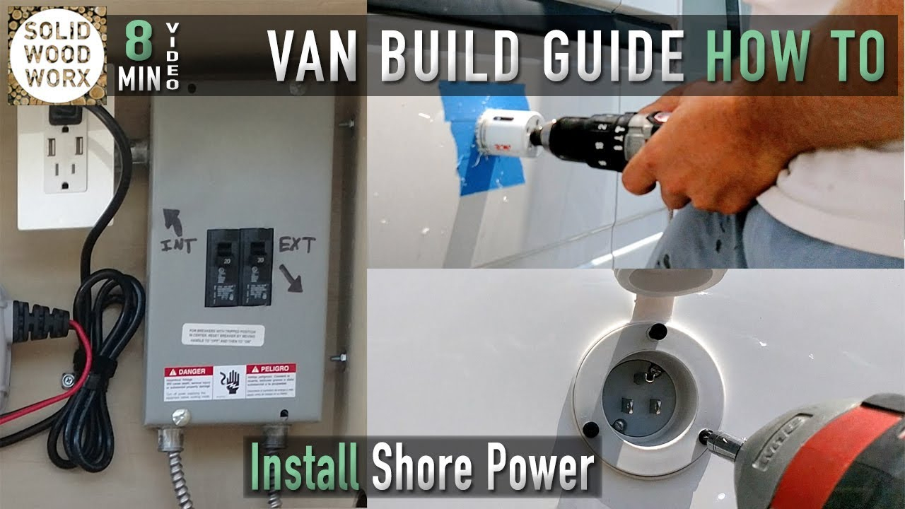 How To Wire Your Vehicle For Shore Power Hookups - Youtube - Rv Converter Wiring Diagram