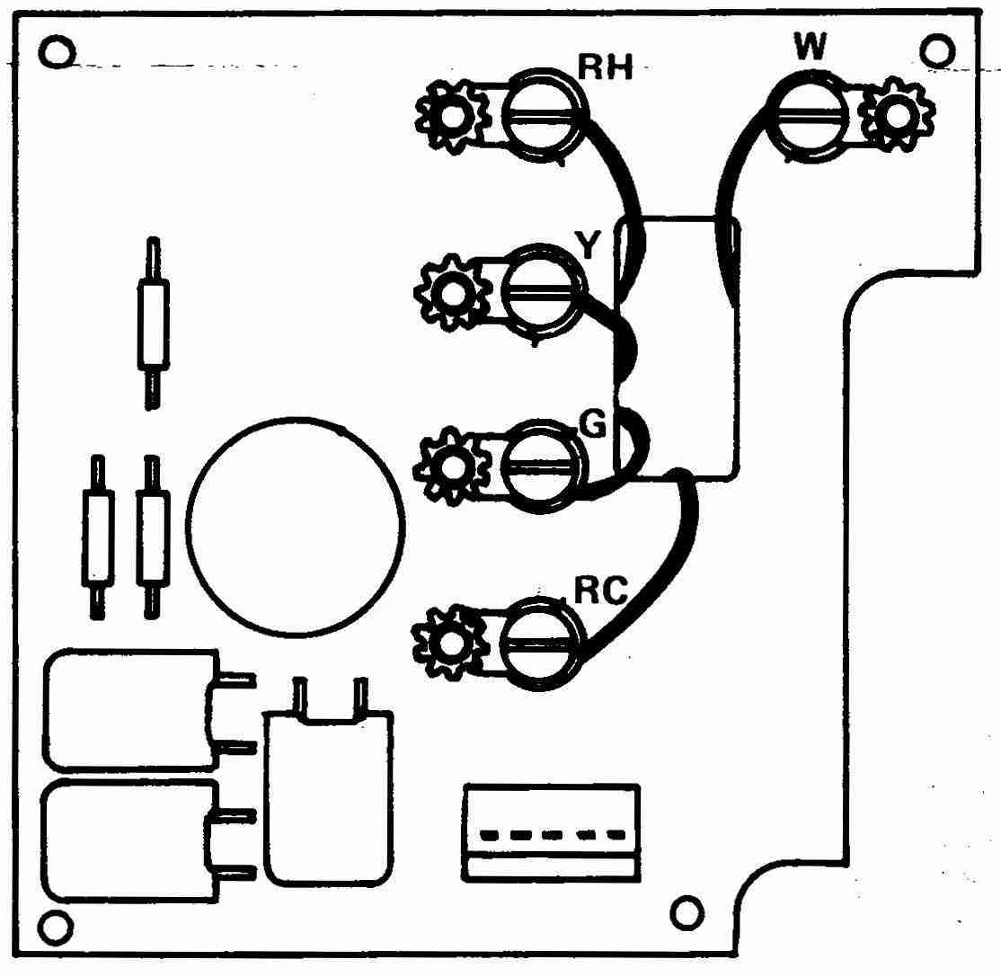 How Wire A White Rodgers Room Thermostat, White Rodgers Thermostat - 5 Wire Thermostat Wiring Diagram