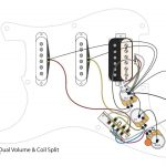 Hss Guitar W/dual Volumes, Master Tone And Coil Split   Youtube   Hss Wiring Diagram