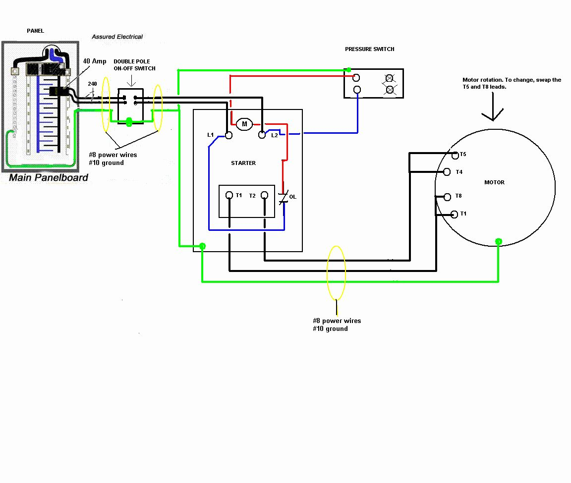 Husky Air Compressor Wiring Diagram Luxury Husky Air Pressor 240V - Air Compressor Wiring Diagram 240V