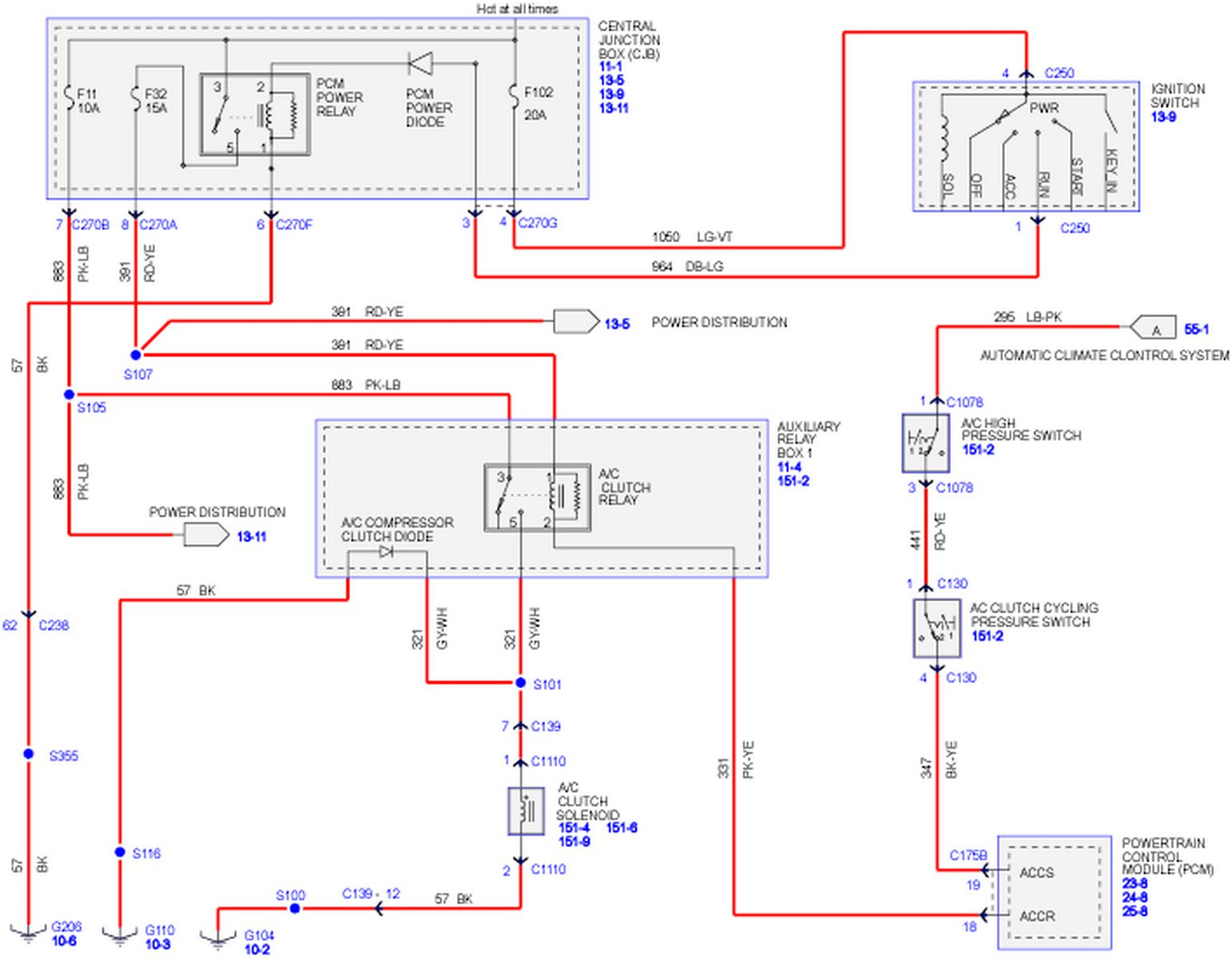 Hvac Fuse Wiring Diagram | Manual E-Books - Hvac Relay Wiring Diagram