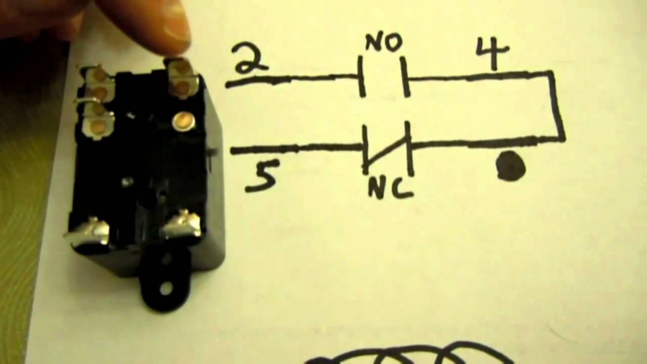 Hvac More About Spst, Spdt And Spno-Spnc Relays - Youtube - Hvac Relay Wiring Diagram
