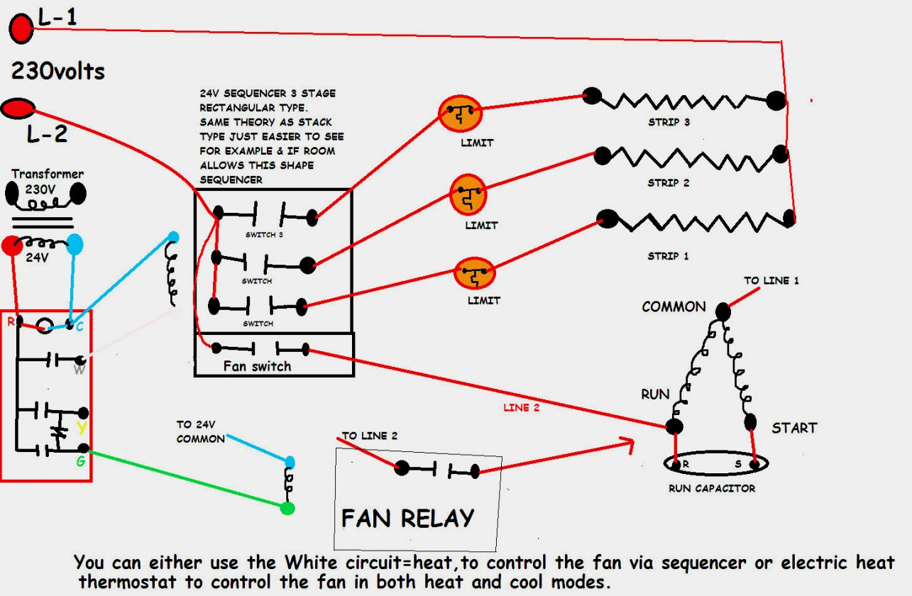 Hvac Relay Wiring - Wiring Diagram Data - Hvac Relay Wiring Diagram