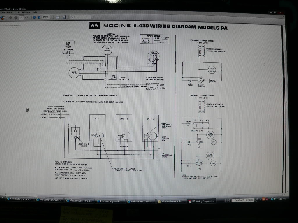 33 Modine Heater Wiring Diagram Manual Guide