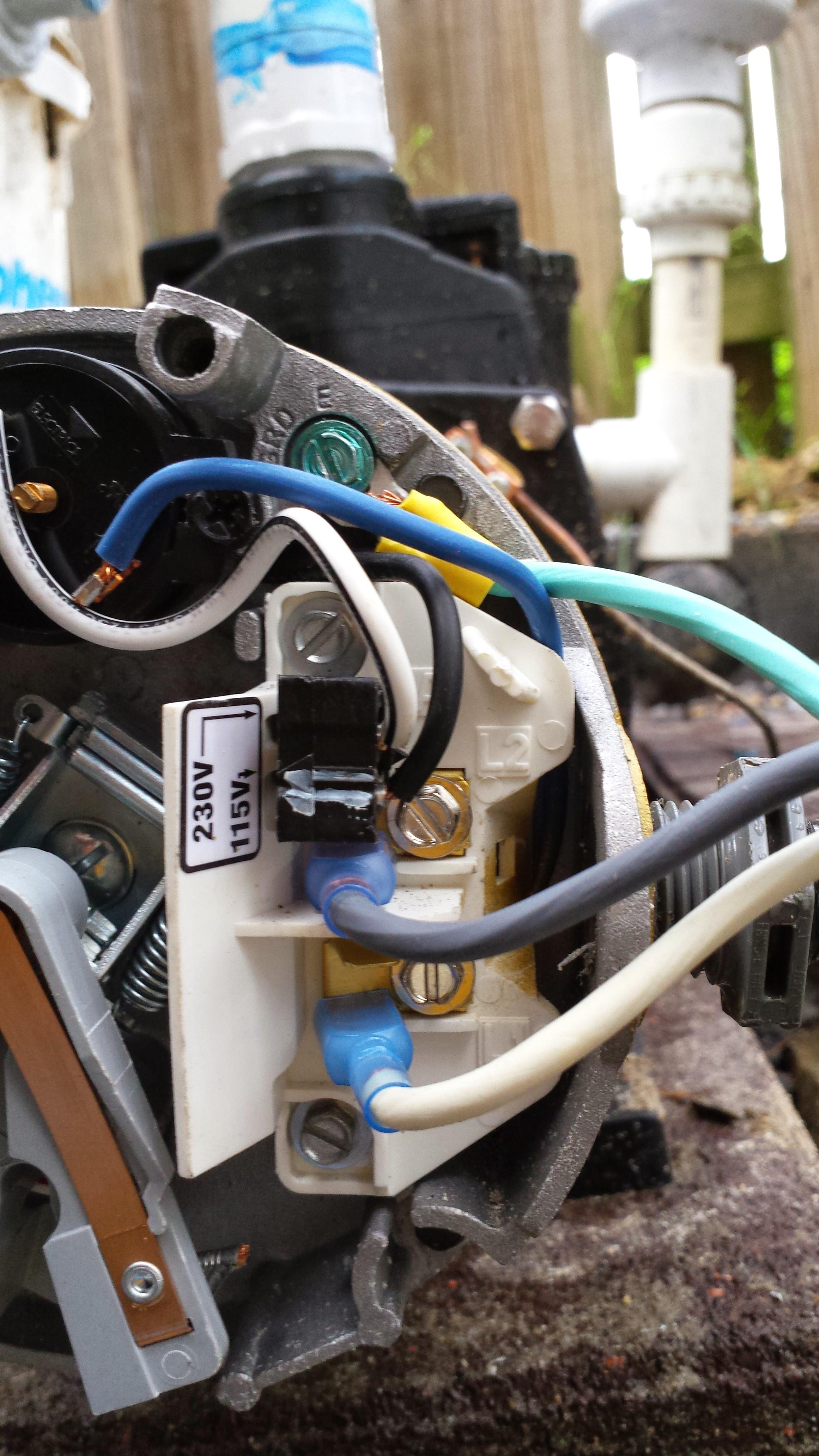 I Have A Hayward 1 1/2 Hp Pool Pump Model C48L2N134B1 It Is Brand - Hayward Super Pump Wiring Diagram 115V