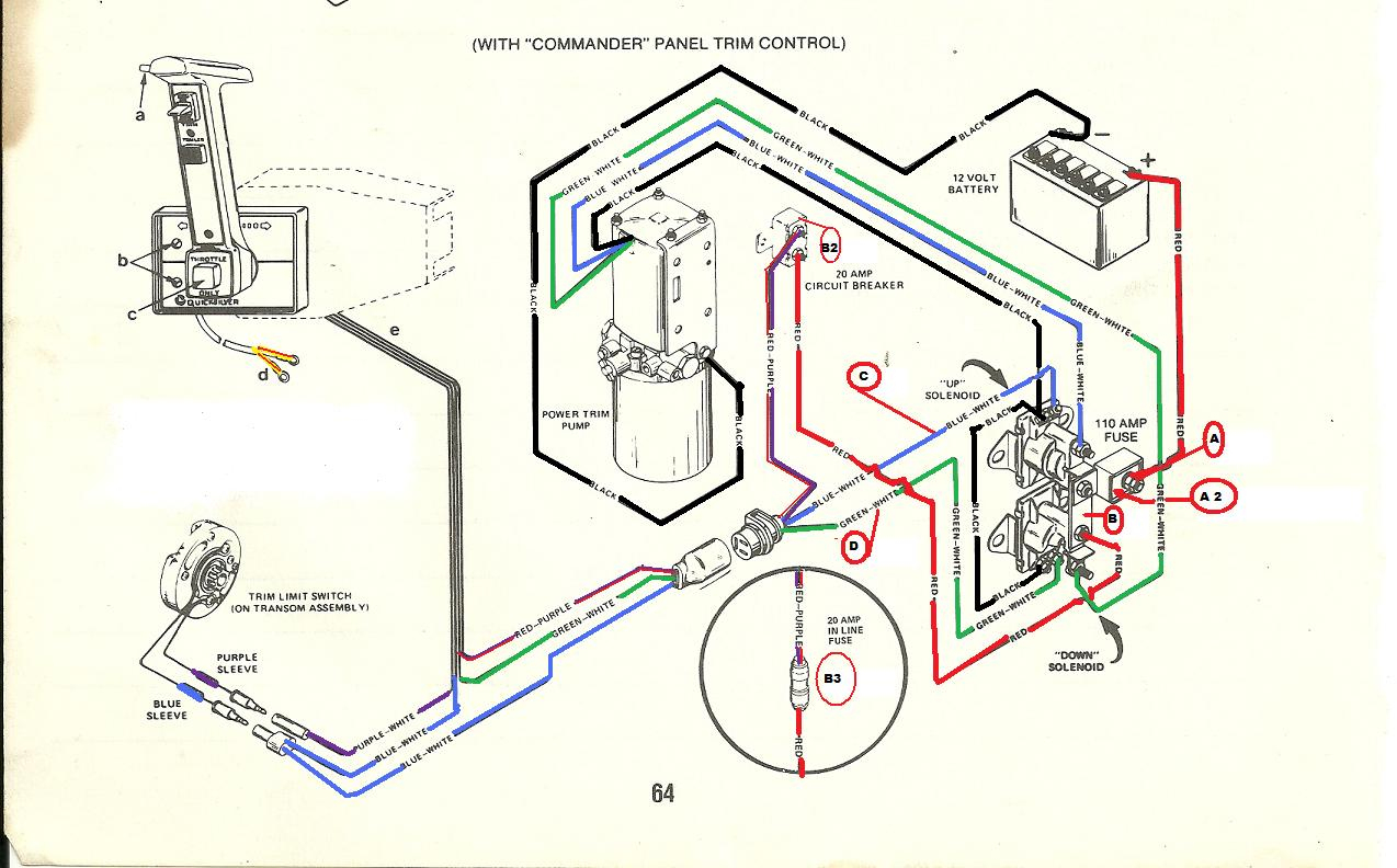I Have A Mercruiser 454 Motor That I Have Rebuilt And Am Replacing A - Mercruiser 3.0 Wiring Diagram