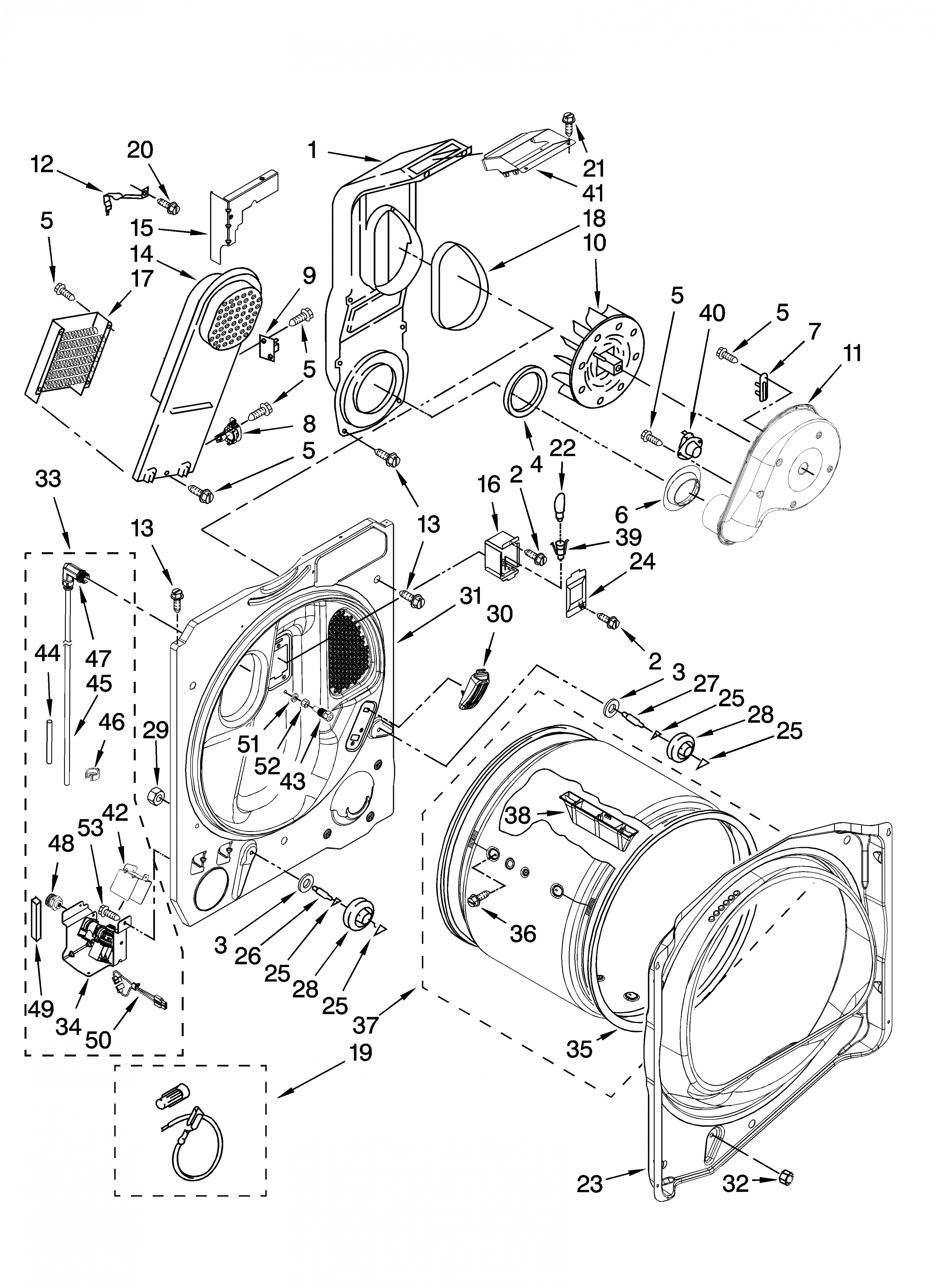 Ideas: Whirlpool Dryer Parts Diagram Example Electrical Wiring - Whirlpool Dryer Wiring Diagram