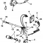 Ignition Switch Kit    Single Bezel Electrical 1998 Accessories For   Johnson Ignition Switch Wiring Diagram