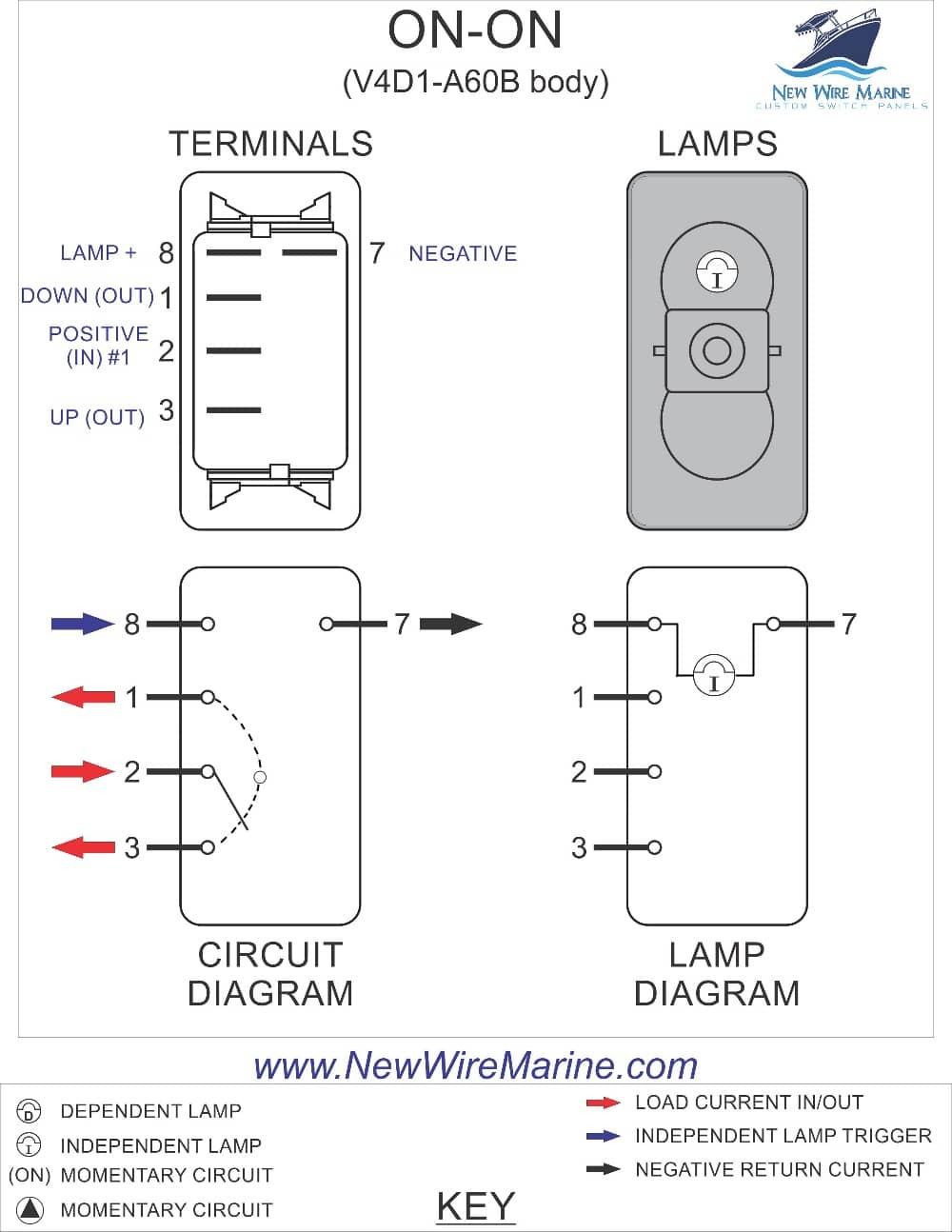 Illuminated Rocker Switch Wiring Diagram - Wiring Diagram Data - 3 Pin Rocker Switch Wiring Diagram