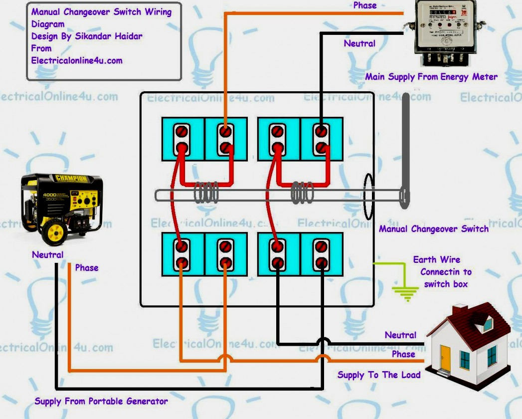Images Of Manual Transfer Switch Wiring Diagram Changeover For - Transfer Switch Wiring Diagram