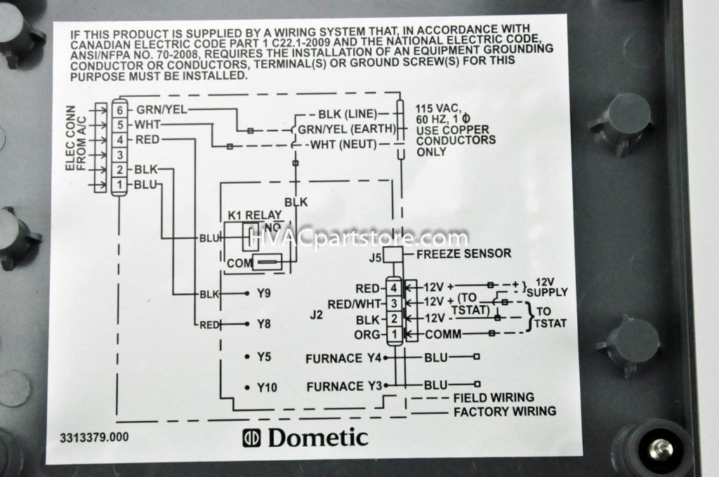 Images Samples Of Duo Therm Thermostat Wiring Diagram In