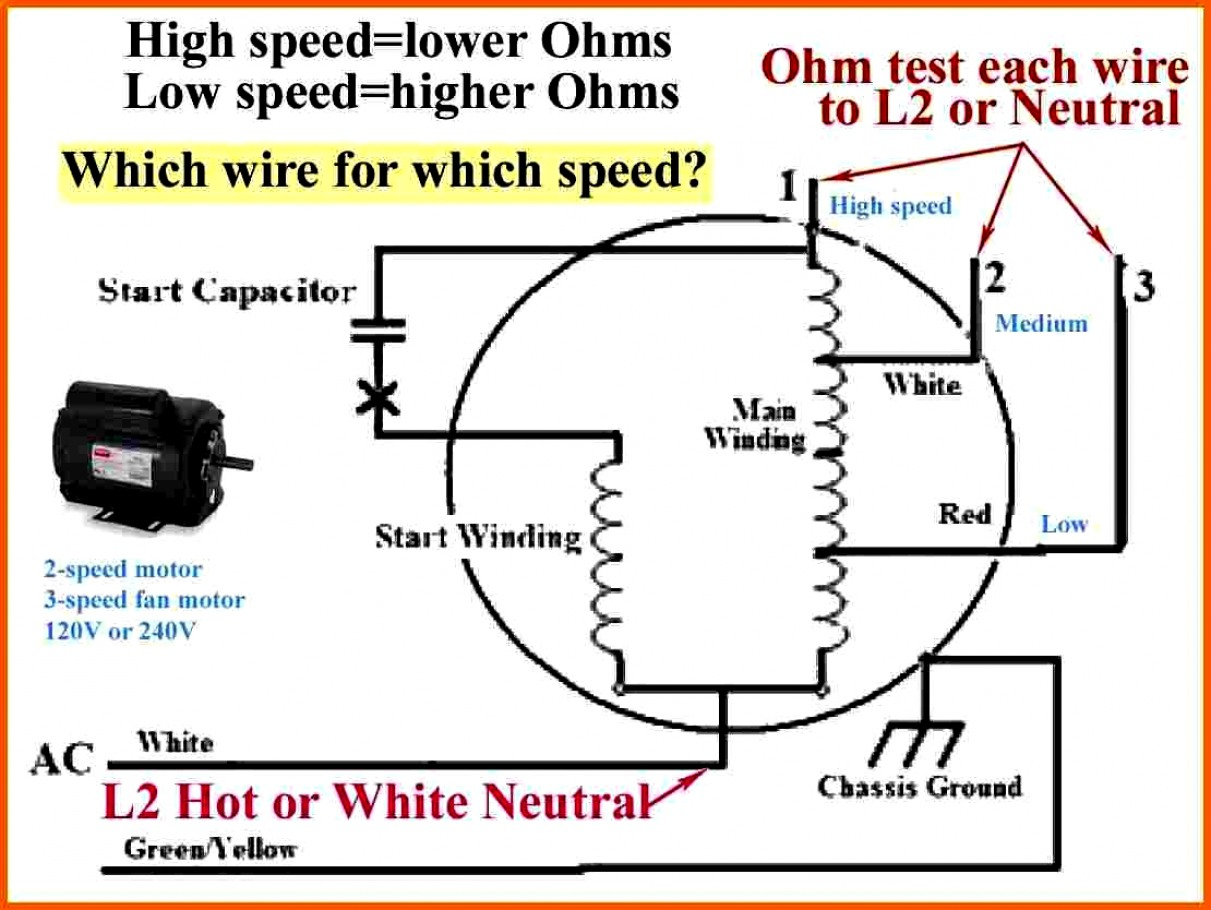 Inspirational 3 Speed Fan Motor Wiring Diagram Ac How To Wire 1 - 3 Speed Fan Wiring Diagram