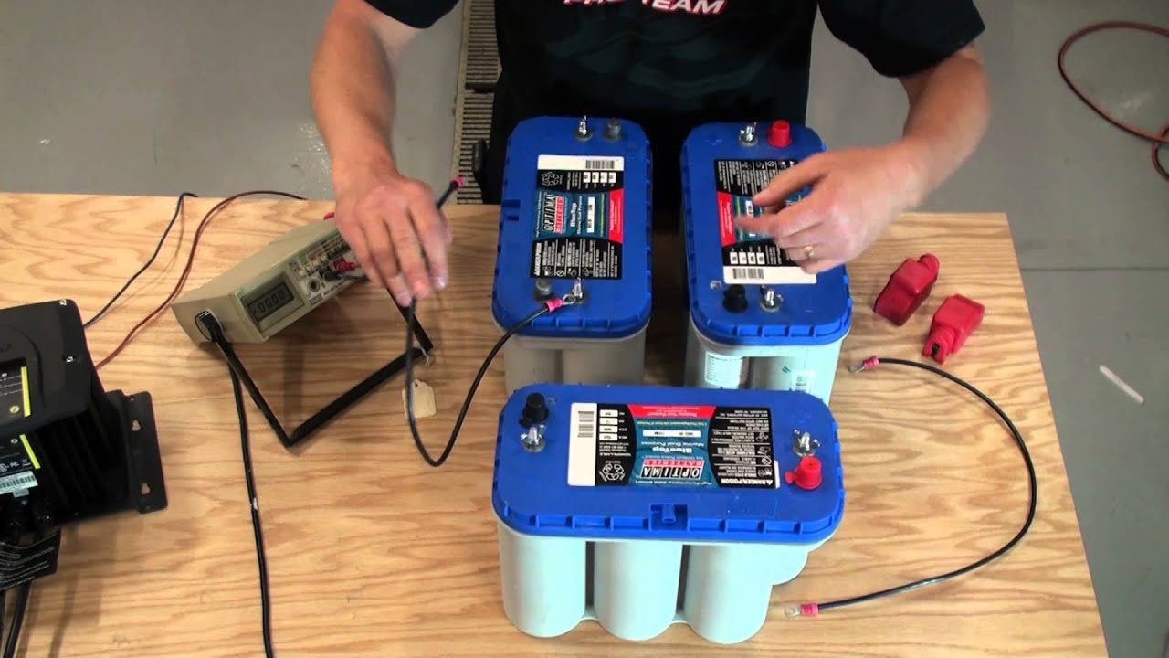 Installing 24V And 36V Battery System For Trolling Motor - Youtube - 36 Volt Trolling Motor Wiring Diagram