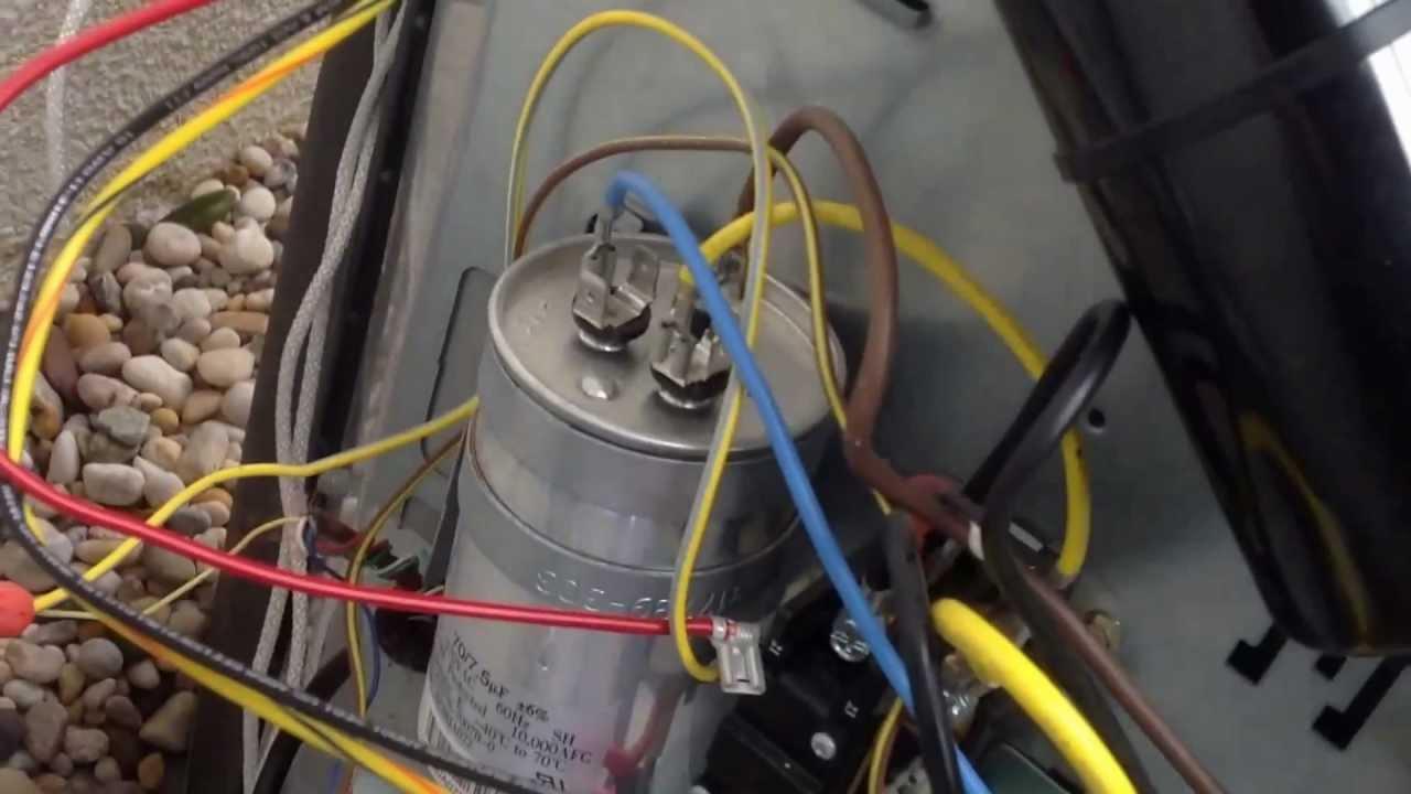 Motor Run Capacitor Wiring Diagram