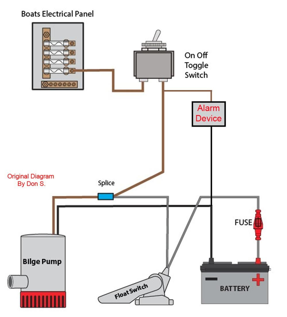 Installing Float Switch To Bilge Pump? Page: 1 - Iboats Boating - Bilge Pump Float Switch Wiring Diagram