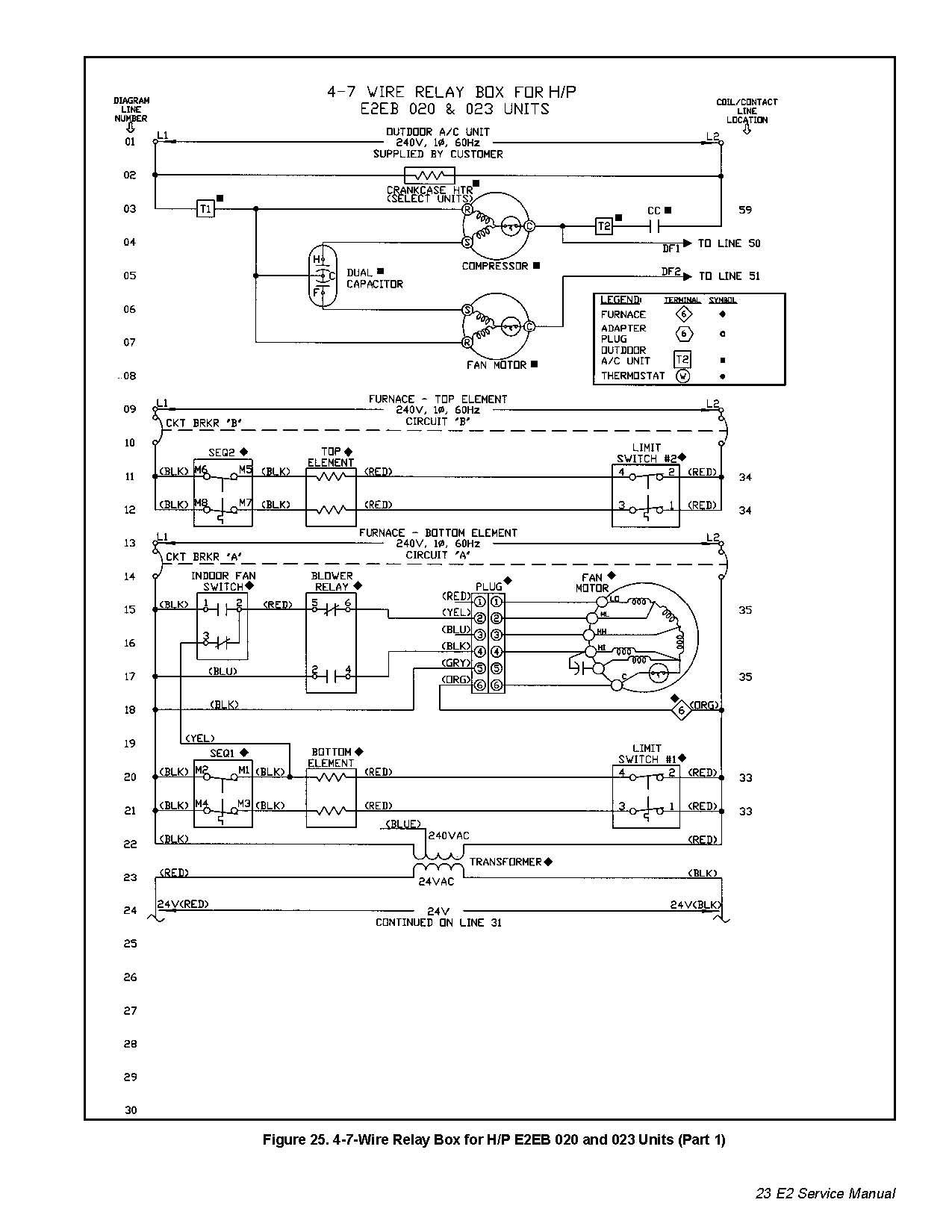 Intertherm Sequencer Wiring Diagram | Manual E-Books - Electric Furnace Wiring Diagram Sequencer