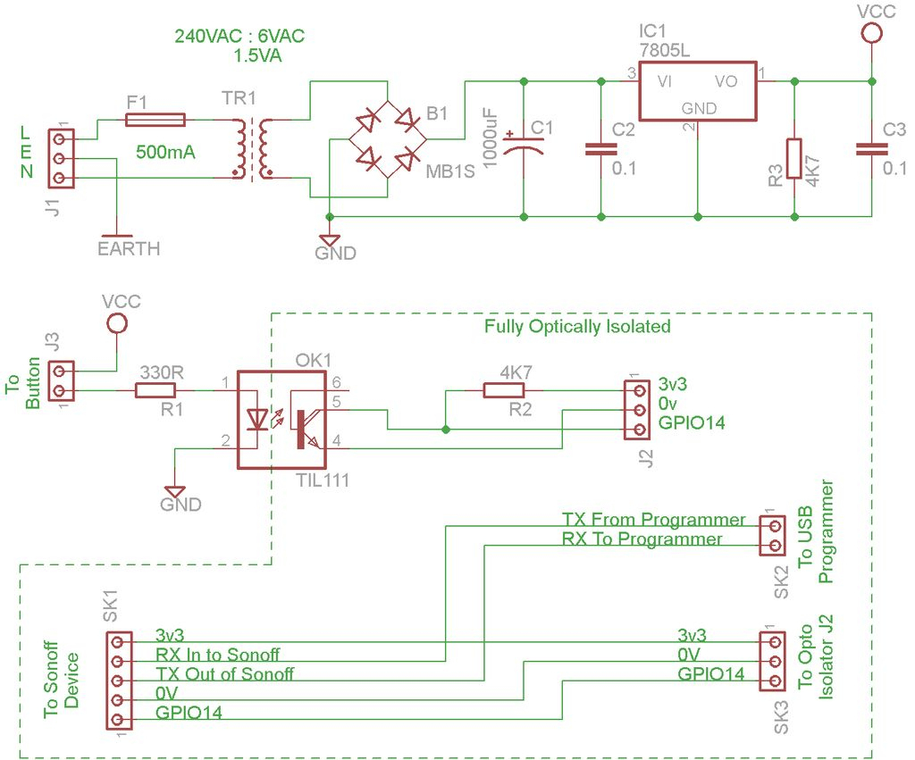 Iot Mains Controller. Part 9 : Iot, Home Automation: 10 Steps (With - Sonoff Wiring Diagram