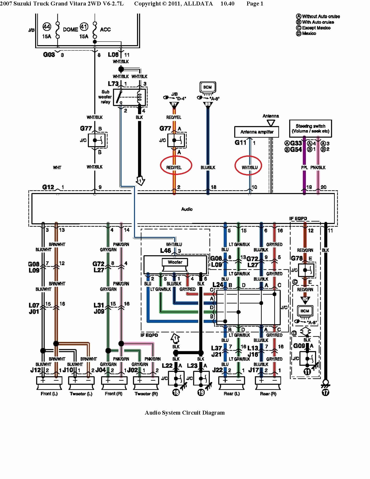 Jbl Amplifier Wiring Diagram | Wiring Diagram - Toyota Jbl Amplifier Wiring Diagram
